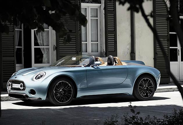 The MINI Superleggera Vision is a heart-achingly beautiful roadster with a huge dollop of Britishness and a touch of Italian flair.