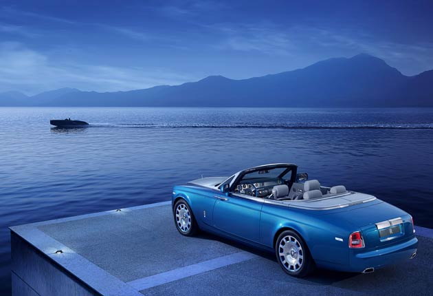 Rolls-Royce entice us again with the Phantom Drophead Coupé Waterspeed Collection