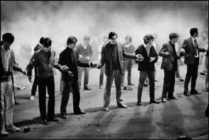 FRANCE. Paris. Gay Lussac Street. May 10th 1968.