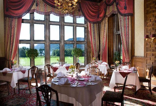 Dining at Armathwaite Hall