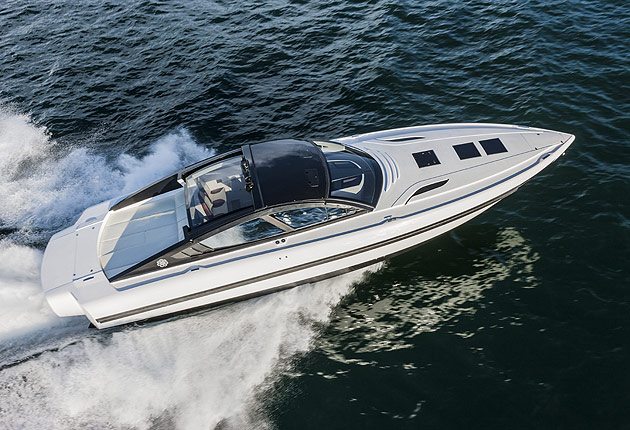 The Revolver 44GT - A high performance yacht with supercar styling