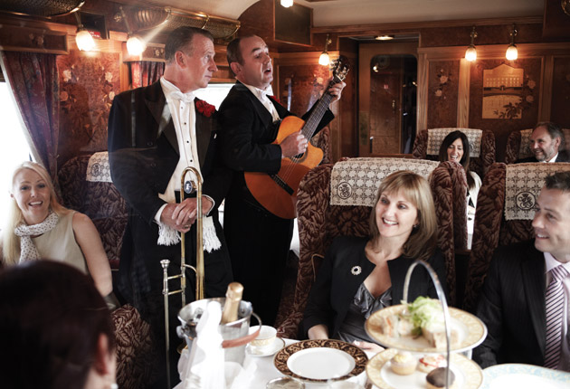 Things to try in 2014 - The Belmond Northern Belle luxury day train