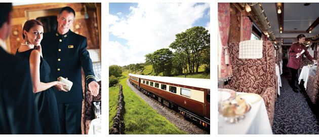 Belmond Northern Belle luxury day train