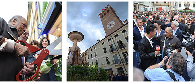 Montegrappa, the Iconic luxury Italian brand opens first flagship store in Bassano del Grappa, Italy