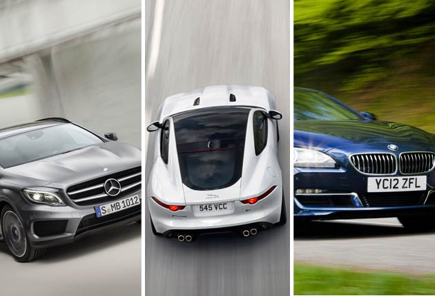 How are the luxury and sports car motoring manufacturers faring in 2014?