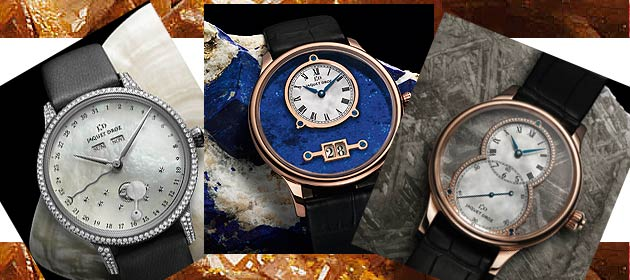Jaquet Droz Lapis Lazuli, Meteorite and Mother-of-Pearl