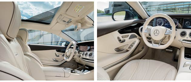The new MercedesBenz S65 AMG with a chestthumping V12 engine and