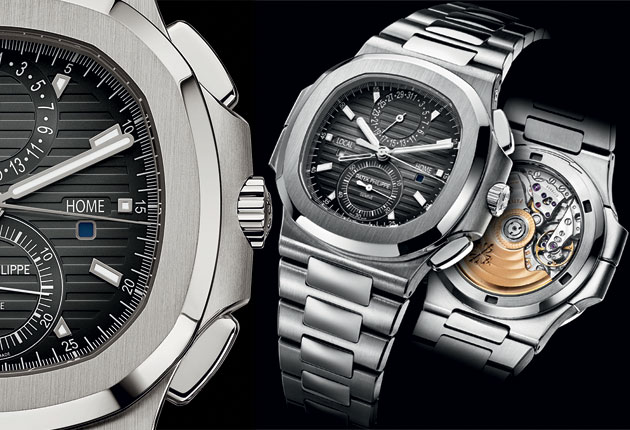 New Timepieces: Patek Philippe Nautilus Travel Time Chronograph