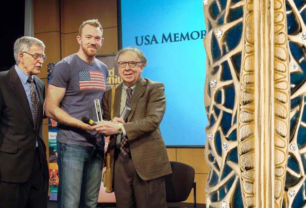 Montegrappa acknowledge Nelson Dellis at the US Memory Championship