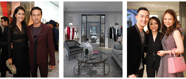 The re-opening party of Christian Dior's flagship boutique in the swanky Starhill Gallery