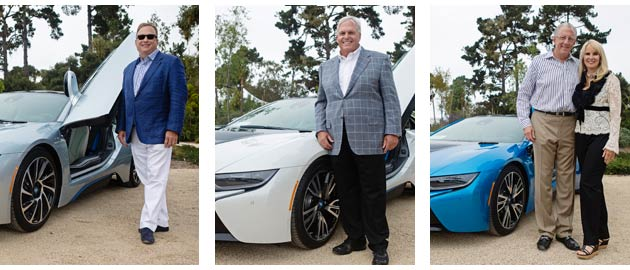 BMW delivers the first BMW i8 Supercars at Pebble Beach Concours d'Elegance 4