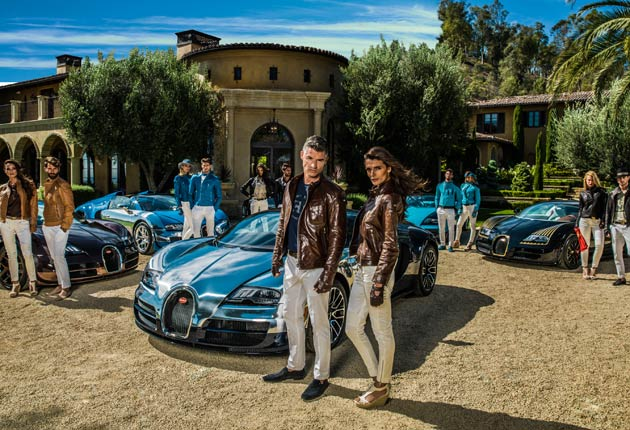 "The new Bugatti fashion and accessories collection dedicated to the ""Les Légendes de Bugatti"""