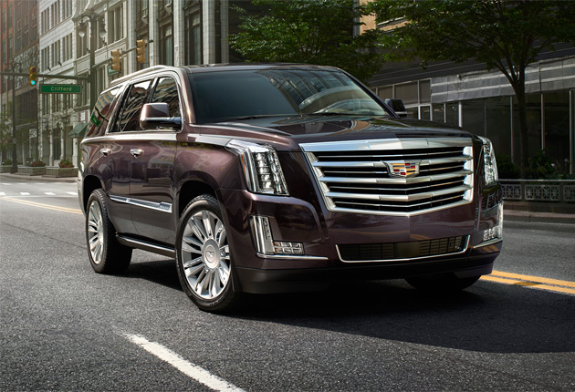 The new Escalade Platinum Collection - Very Precious Metal