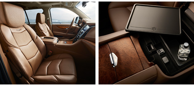 The new Cadillac Escalade Platinum collection