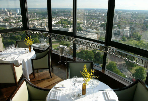 Dining With A View - Galvin At Windows