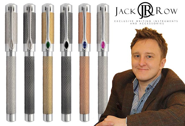 Jack Row launches the Mirage Collection of luxury pens and cufflinks