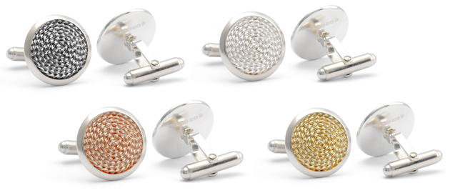 The Jack Row Mirage Collection of luxury pens and cufflinks 8