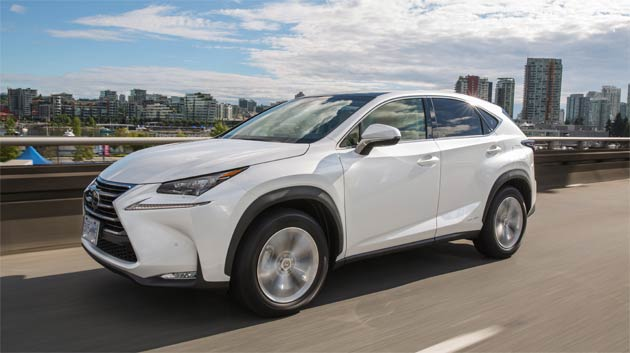Lexus unveils its first premium crossover, the NX