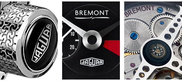 These Bremont watches will complement the six continuation Lightweight E-Type vehicles being built by Jaguar Heritage
