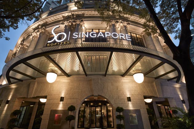 Stylish Sophistication with a touch of French Flair at the Sofitel So Singapore