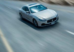 James Hutchinson puts the Maserati Ghibli through its paces in Dubai