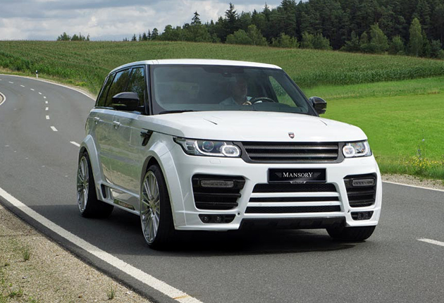 Mansory Unveils Upgrades For Range Rover Vogue And Sport