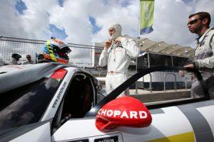 "Chopard ""Official timing partner"" of Porsche Motorsport at the Austin FIA World Endurance Championship 7"