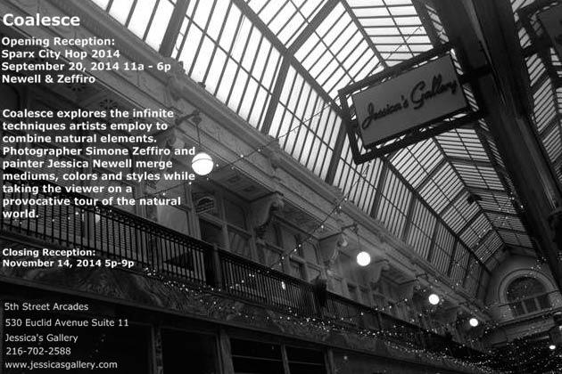 """Coalesce"" Fine Art Exhibition Cleveland"