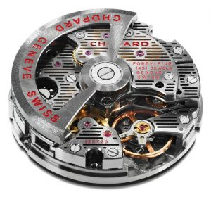 Chopard 03.05-M calibre, chronometer-certified by the COSC