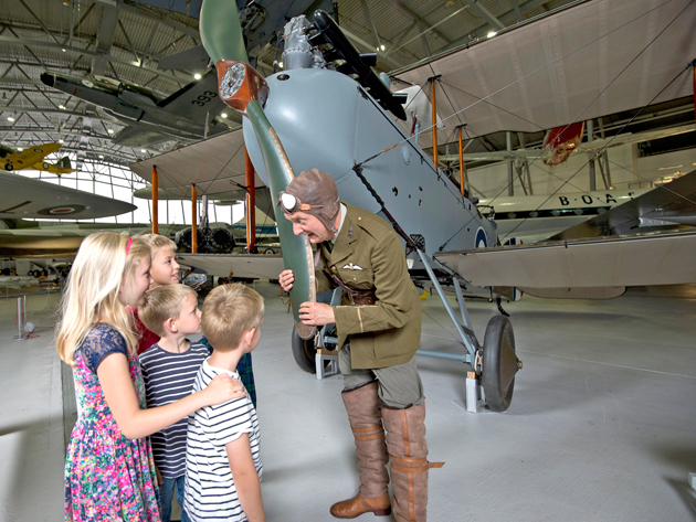 Find out how war took to the skies in the First World War at IWM Duxford
