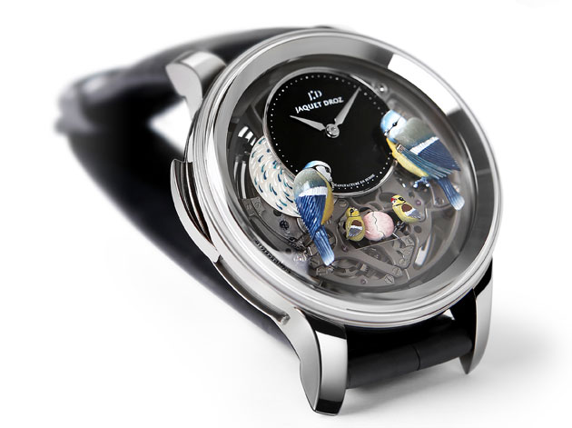 The magnificent Bird Repeater Openwork by Jaquet Droz
