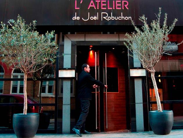 Haute Cuisine At L'Atelier De Joël Robuchon