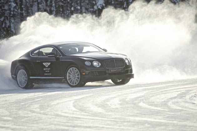 Bentley's Power on Ice - the ultimate winter ice-driving event returns for 2015