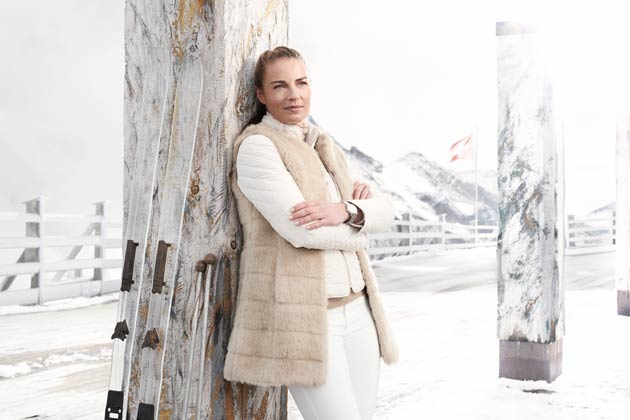 Double Olympic Ski Champion Tina Maze becomes global ambassadress for Alpina Watches