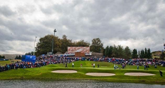 Johnnie Walker Blue Label At The Ryder Cup
