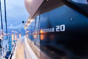 Andrea Bocelli recieves his Gamma 20 mini-superyacht