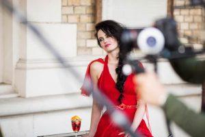 Behind the scenes at the Campari 2015 Calendar shoot
