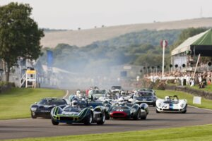 Goodwood Revival is an automotive feast for the eyes. Photo: Drew Gibson.