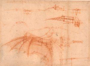 Original works of Leonardo da Vinci