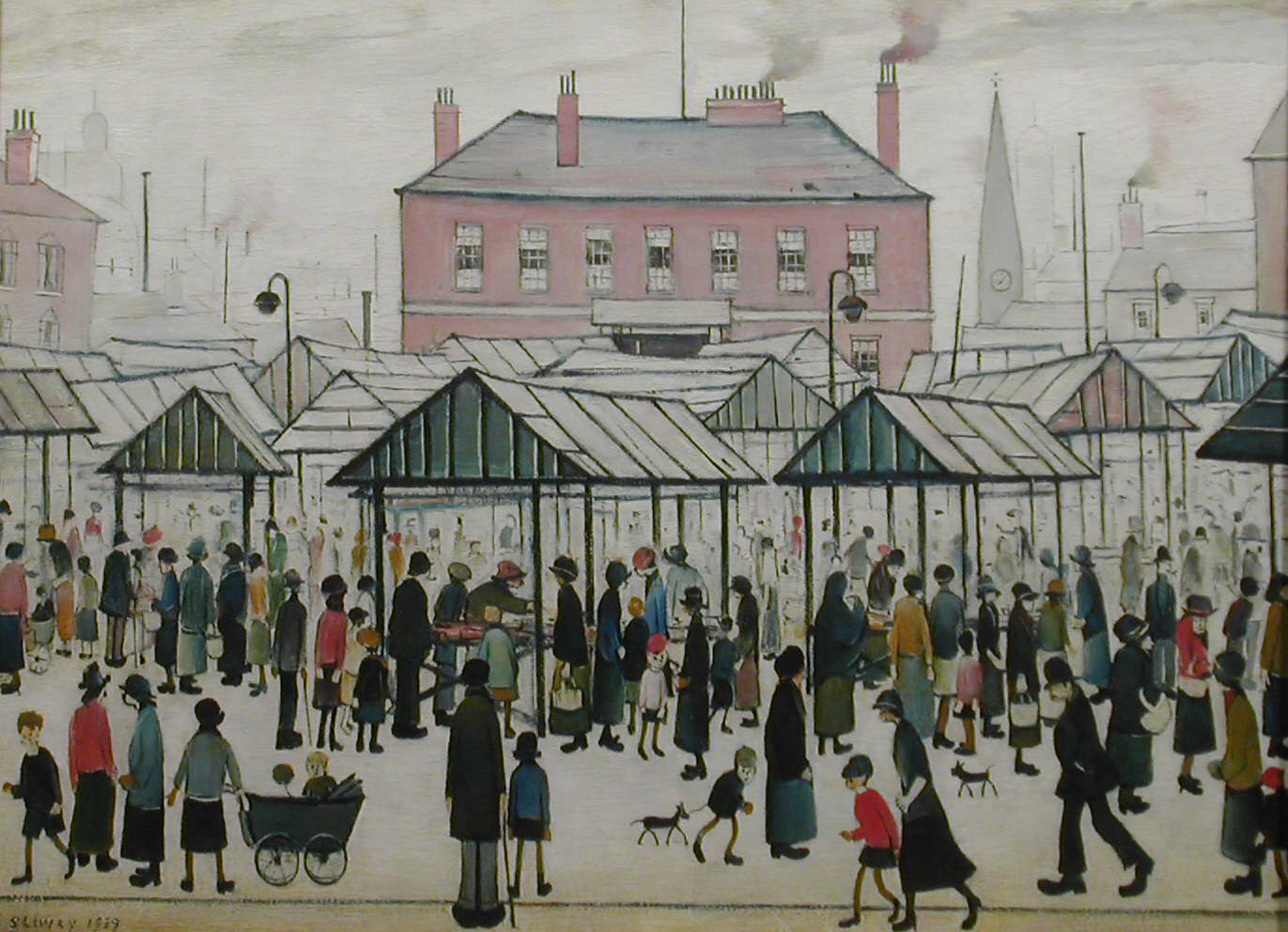 Ls Lowry S Work Heads To China For The First Time