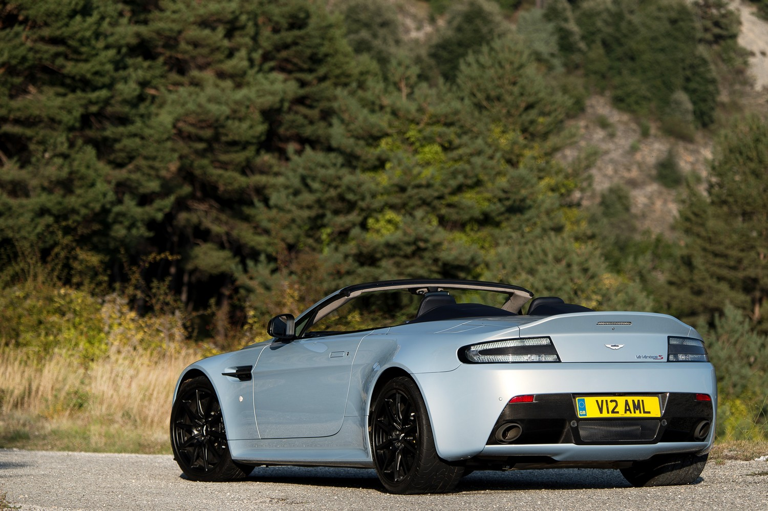 Aston Martin V12 Vantage S Roadster Road Test In Nice France