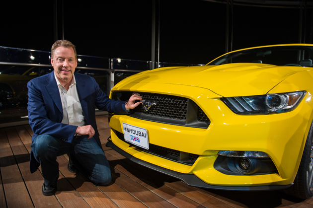 Ford introduces the all-new Mustang on the biggest stage in the world