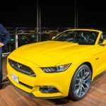 Ford introduces the all-new Mustang on the biggest stage in the world 1