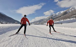 Learning to Ski in St Moritz