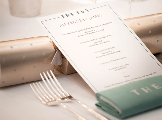 Alexander & James Partners With The Ivy For An Exceptional Christmas At Home