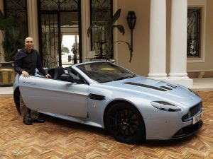 Mike Lee and the V12 Vantage S Roadster