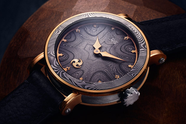 The GoS limited edtion Nordic Seasons - Gold timepieces