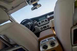 When you sit in the Rolls-Royce Ghost Series II, your body almost melts into the seats.