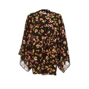 Aloe Loungewear Shanghai Silk Kimono