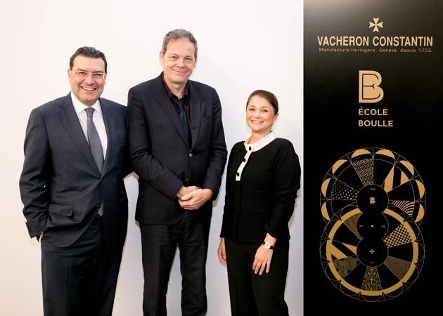 Art & Design School, École Boulle and Vacheron Constantin announce partnership agreement